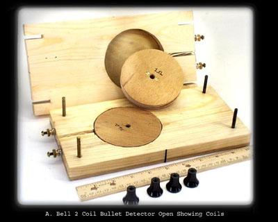 Alexander Graham Bell's metal detector